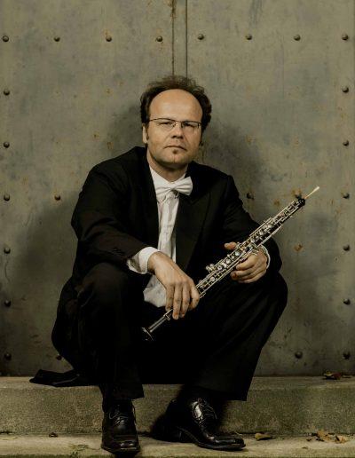 Stuttgarter Kammersolisten Oboe Hans-Jörg Alber